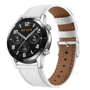 Leather Band Strap For Samsung Galaxy Watch 42 46mm/Gear S3 Classic/Frontier S2