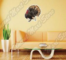 """Thanksgiving Holiday Turkey Farm  Wall Sticker Room Interior Decor 22"""""""