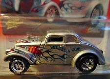 JOHNNY LIGHTNING 33 1933 WILLYS GASSERS WILD BILL & CODY COLLECTIBLE CAR SILVER