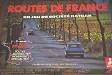 Vintage 1976 Routes De France Board Game by Jeux Nathan - Complete!!!