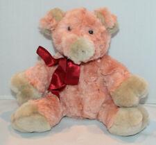 Heritage Collection by Ganz pink plush stuffed pig Rosebud Valentine soft floppy