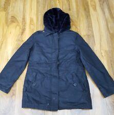 Boden Ladies Fabulous Penzance Parka Black Duffle Coat. RRP £169 WE563 SIZE 10.