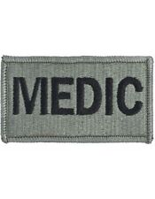 MEDIC ACU Army Patch with Fastener (PV-MEDIC)