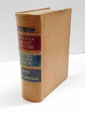 American Law Digest 1658 to 1896 Century Edition Vol. 8 Decorative Leather