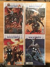 Ultimate New Ultimates #1-4 Nm 9.4 Jeph Loeb Frank Cho