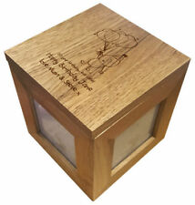 Wooden Personalised Square Photo & Picture Frames