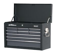 Sealey American 9 Drawer BLACK Top Chest Tool Box Ball Bearing Runners AP2509B