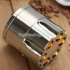 4cm Metal Herb Cigars Grinder Mill Tobacco Spice Crusher Storage Tool