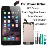 Full Set LCD Touch Screen Digitizer Assembly Replacement for iPhone 6 Plus Black