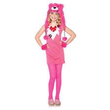 ENCHANTED COSTUMES PINK SWEETHEART BEAR GIRLS HALLOWEEN COSTUME SIZE MEDIUM 7-10
