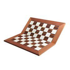 "Folding Standard Traditional Chess Board 2.375"" - Bird's Eye Maple , Indian Rose"