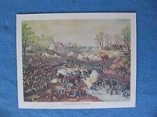 "Kurz & Allison Civil War Print- ""Battle of Shiloh"" Tennessee  - FEW LEFT BUY NOW"