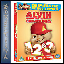 ALVIN AND THE CHIPMUNKS - 3 FILM COLLECTION  *BRAND NEW DVD ***