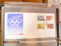 1988 NEW ZEALAND  FIRST DAYCOVER SEOUL 88 OLYMPICS HEALTH ISSUE