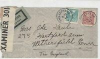 sweden 1942 stamps cover ref 19571