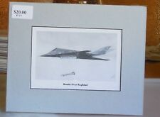 "F-117A Nighthawk ""Bombs Over Baghdad"" 8X10 Matted Art Print by Willie Jones Jr"