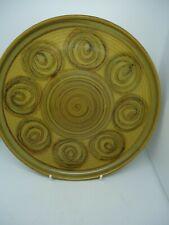 Alvingham Pottery Dinner Plate 24 cm Autumn Colours Vintage British