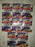 Vintage Lot of 8 Matchbox Racing Superstars 1/64 scales from 1993