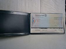 """Original scheckvordruck deutsche bank 24 """"escándalo bank"""" artículo de colección como nuevo"""