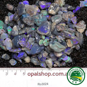 Nobby Opal from Lightning Ridge Black Opal Country, - Ro3024