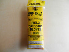 HS Hunter's Specialties Field Dressing Gloves;  6 Pr Wrist, 6 Pr Shoulder; 01059