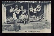 Ceylon COLOMBO Native fruit shop PPC