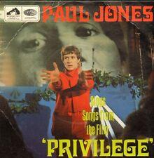 """PAUL JONES - Privilege (1967 UK EP 7"""" COVER ONLY / NO VINYL)"""