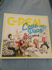 C-Real love diary signed autographed album CD  kpop k-pop