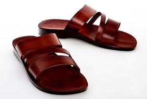 Bethlehem Style 010 Original Leather Biblical Jesus Flip Flop Sandals