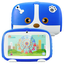 "7"" Inch 1+16GB Kids Tablet PC Android 9.0 Dual Camera WiFi 3G Bundle Case Gift"