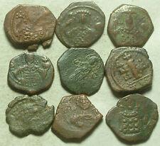 Rare Original ancient BYZANTINE coin tetarteron George Virgin Mary Christ Cross