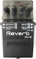 Used Boss RV-6 Digital Reverb Guitar Effects Pedal!