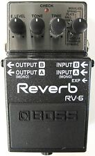 Used Boss RV-6 Digital Reverb Guitar Effects Pedal!