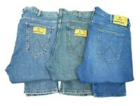 Mens Wrangler Larston stretch slim tapered fit jeans SECONDS WA183