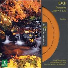 BACH: Overtures, Suites No. 1-3 CD John Eliot Gardiner, English Baroque Soloists