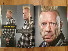 John Lydon SEX PISTOLS Oscar Pistorius Reeva Steenkamp TIMES Magazine Oct 2014