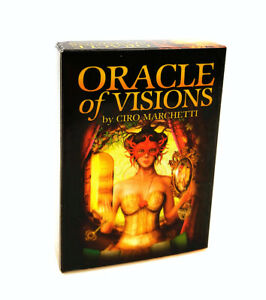 52Pcs/Set Oracle cards of Visions tarot Deck Cards Divination Esoteric Fortune
