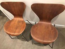 VINTAGE 1971 FRITZ HANSEN SERIES 7 CHAIR by Arne Jacobsen