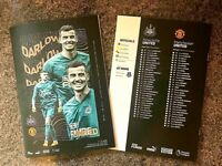 Newcastle United v Manchester United PL MATCHDAY PROGRAMME 17/10/20!