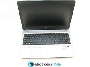 """HP ProBook 650 G2 15.6"""" Laptop 2.4 GHz i5-6300U 4GB RAM Grade C No Caddy, Webcam"""