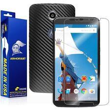 ArmorSuit MilitaryShield Google Nexus 6 Screen Protector + Black Carbon Fiber