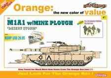 M1A1 avec rabot à mines Desert Storm 1/35 Cyber