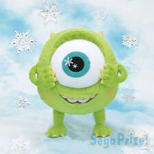 Sega Mike Wazowski MEJ Snow Crystal Version Stuffed Plush Doll 38cm SEGA1016175
