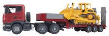 Camion Scania avec Bulldozer Bruder 0355503555