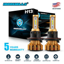 H13 9008 1500W 225000LM CREE LED Headlight bulb Kit Lamp Bulbs Hi/Lo white 6000K