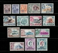Cyprus stamps #183 - 187, mint & used, complete set, 1960, SCV $84.65