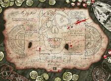The Goonies treasure map screen print movie poster by Anthony Petrie