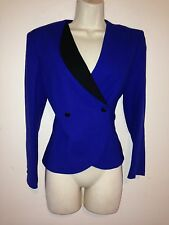 SAKS FIFTH AVENUE PURE WOLL ASYMMETRIC JACKET 4