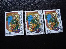 VATICAN - timbre yvert et tellier n° 699 x3 obl (A28) stamp