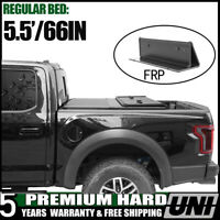 Bed Cover 5.5FT Tonneau Cover Tri-Fold hard double cab Fit 2014-2019 Ford F150